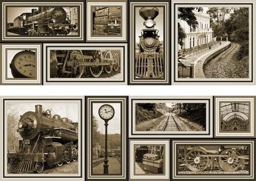 Купить Керамическая плитка Mallol Genova Decor Memories Beige-2 Панно (из 2-x пл.) 50x75, Испания
