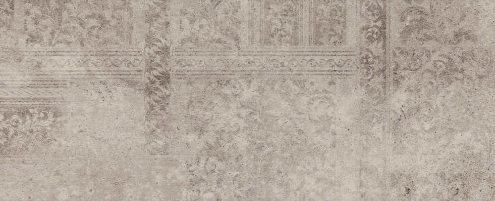 Купить Керамогранит Kutahya Madrid Decor Light Grey декор 30x75, Турция