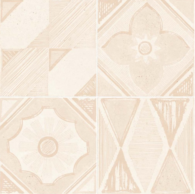 Купить Керамическая плитка Dual Gres Vanguard Pav. Metropoli Marfil (Mix без подбора) напольная 45x45, Испания