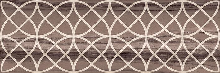 Керамическая плитка Lb-Ceramics Модерн Марбл 1664-0007 Декор 2 темный 20х60