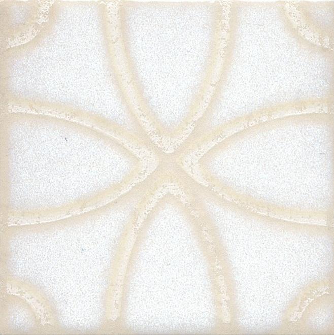 Купить Керамический гранит Kerama Marazzi Амальфи Орнамент Белый STG/B405/1266 Декор 9, 9x9, 9, Россия