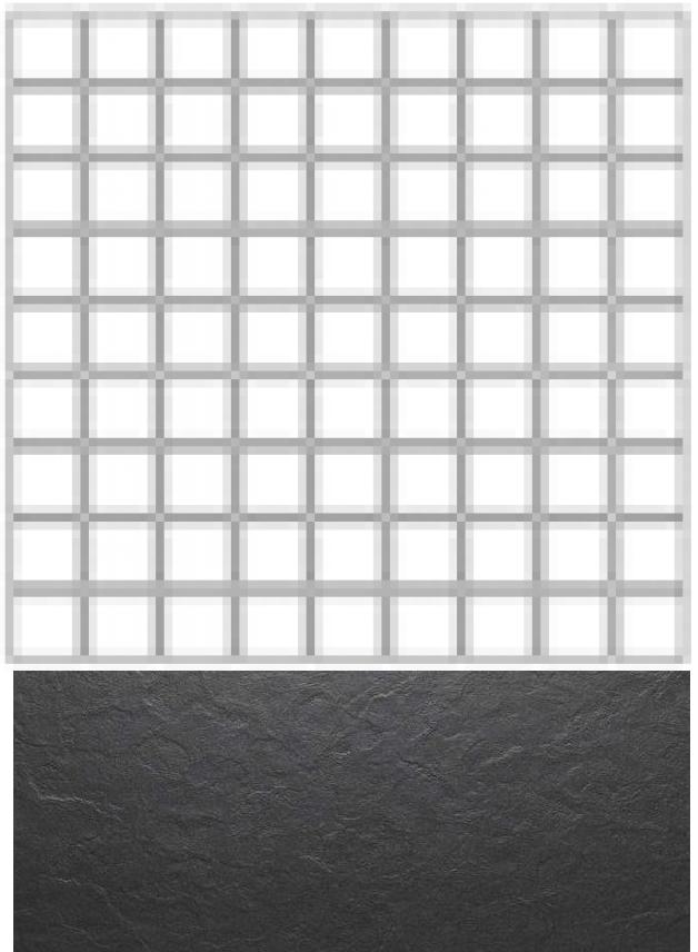 Купить Керамогранит Seranit Riverstone Mosaic Black (5x5) мозаика 30x30, Турция