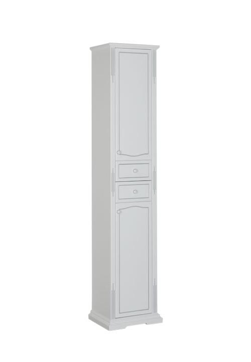 Купить Пенал Aquanet Тулуза 40 напольный белый 00182018, Россия