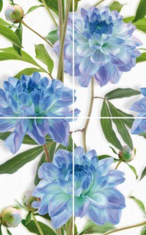 Купить Керамическая плитка Cerrol Bellini Azul Komplet-4 панно 80x50, Польша