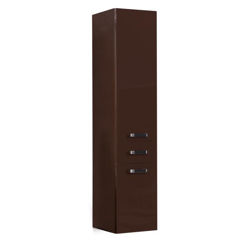 Купить Шкаф-колонна АКВАТОН АМЕРИНА подвесной, темно-коричневый, Акватон, Россия
