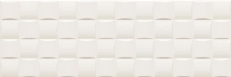 Купить Керамическая плитка Gardenia Orchidea Linear 70220 Bianco Rilievo Dama настенная 25х75, Италия
