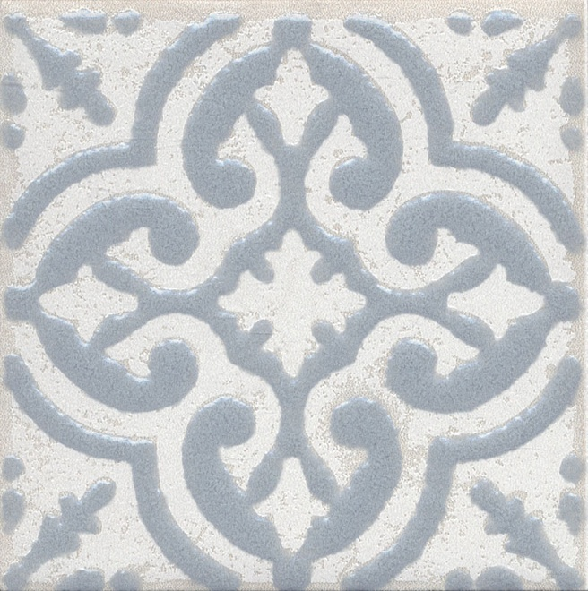 Купить Керамический гранит Kerama Marazzi Амальфи Орнамент Серый STG/C408/1270 Декор 9, 9x9, 9, Россия