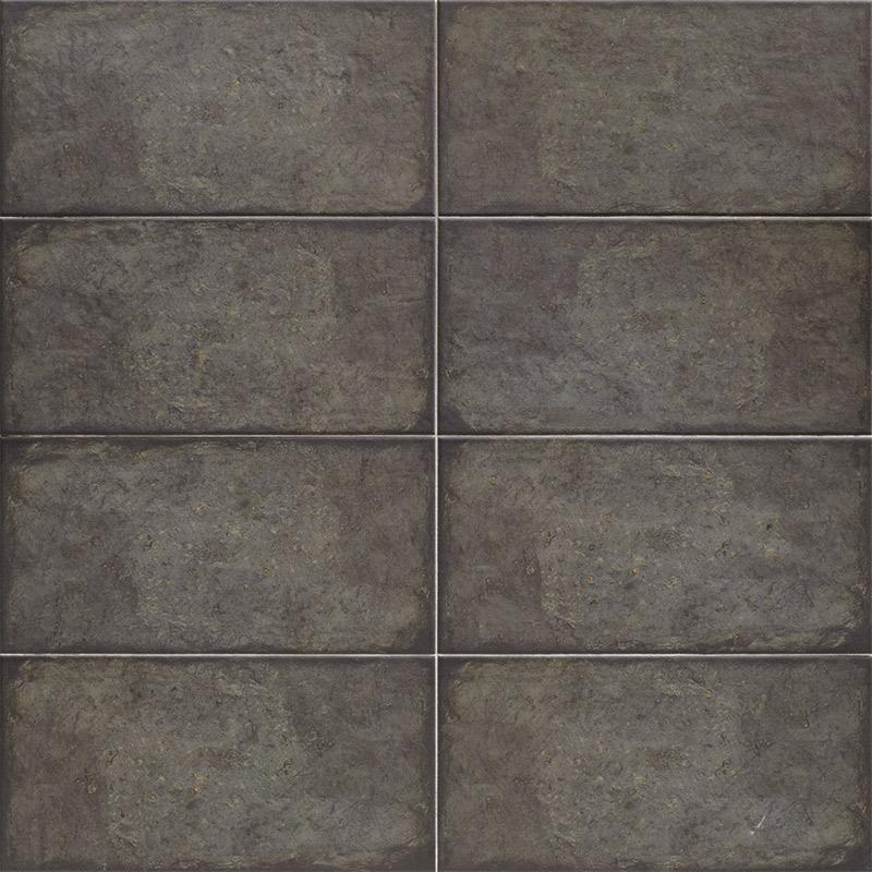 Купить Керамическая плитка Mainzu Rivoli Black Настенная 15x30, Испания