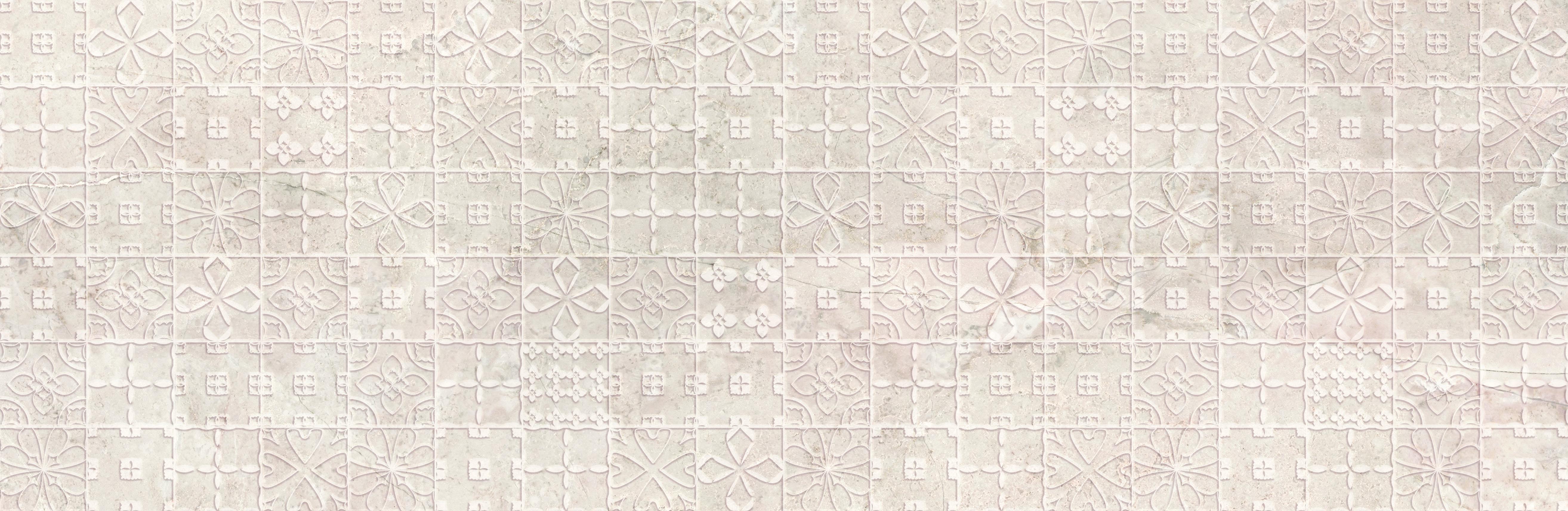 Купить Керамическая плитка Mei Grand Marfil бежевый (O-GRB-WID011-54) декор 29x89, Россия