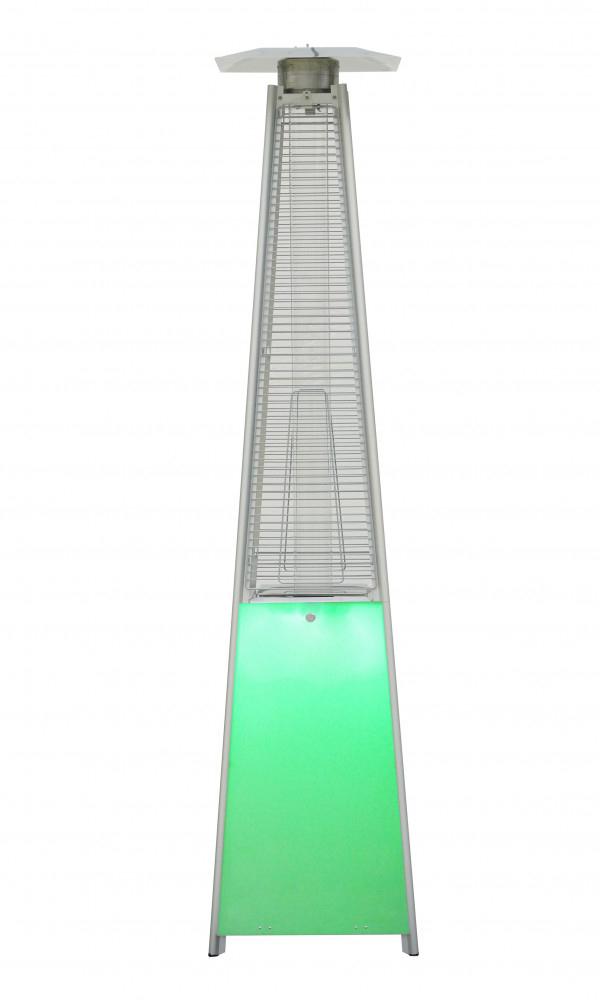 Купить Газовый уличный обогреватель NeoClima 08HW-BW с LED-подсветкой, Россия