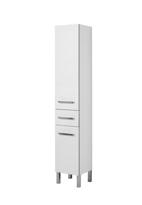 Купить Пенал Aquanet Сиена 35 напольный правый белый 00189244, Россия