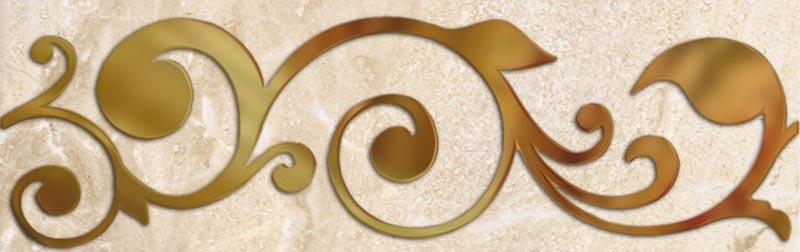 Купить Керамическая плитка Almera Ibero Listello Beige бордюр 10х31, 6, Испания