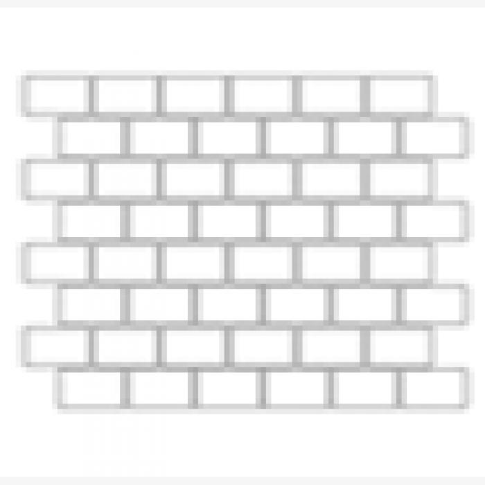 Купить Керамогранит Seranit Fibre Mosaic Brick 3D Grey Full Lappato мозаика 30x79, 5, Турция