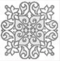 Купить Керамическая плитка Grasaro Marble classik Snow White Вставка GT-270/t02, 7x7 глазурованный, Россия