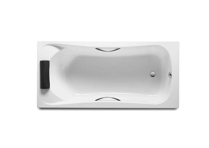 Купить Акриловая ванна ROCA BECOOL 1700x800 ZRU9302852, Испания
