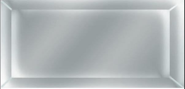 Керамическая плитка Absolut Keramika Monocolor Decor Silver Декор 7, 5x15, Испания  - Купить