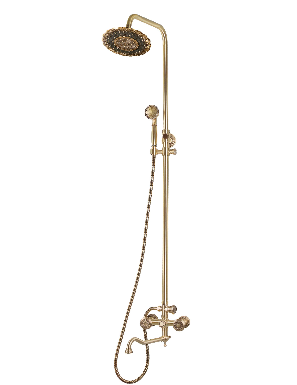Комплект для ванны и душа Bronze de Luxe ROYAL 10121DDF