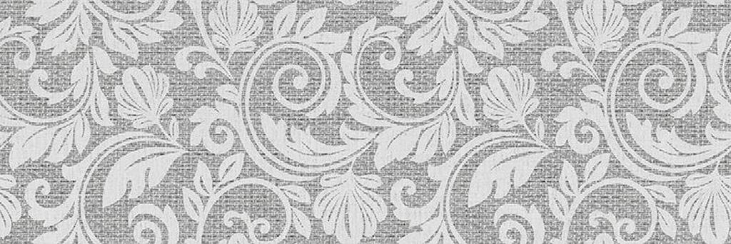 Купить Керамическая плитка ITT Ceramica Decor Passione Grey декор 20x60, Испания