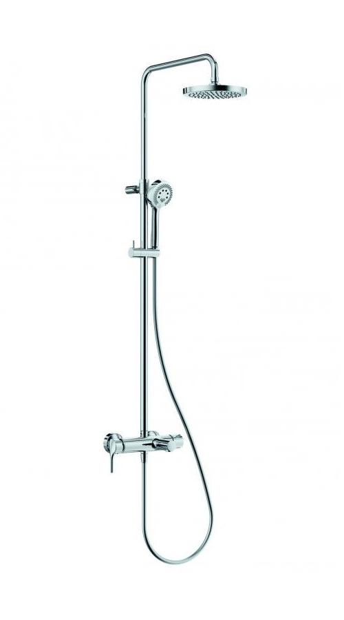 Душевая система со смесителем для ванны и душа Kludi Logo хром 6808305-00
