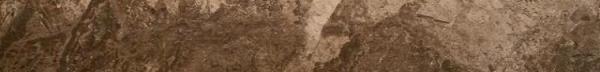 Купить Керамогранит Seranit Fossil Skirting Brown Full Lappato цоколь 7, 2x60, Турция