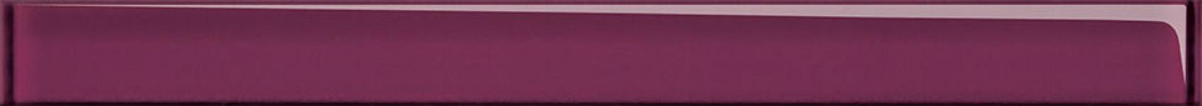 Купить Керамическая плитка Universal Glass cпецэлемент стеклянный пурпурный (UG1H221) 4x45, Cersanit, Россия