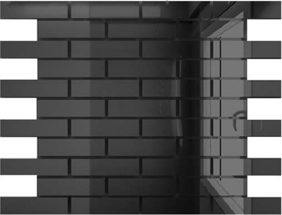 Купить Мозаика зеркальная Графит Г8025 ДСТ 80 х 25/300 x 300 мм (10шт) - 0, 9, Россия