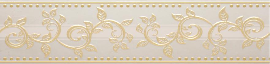 Купить Керамическая плитка AltaСera Flexion Crema BW0FLX01 Бордюр 6, 7х24, 9, Россия