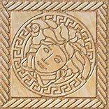 Купить Керамогранит Versace Marble Oro 240302 Tozetto Medusa Sab Декор 11, 5х11, 5, Италия