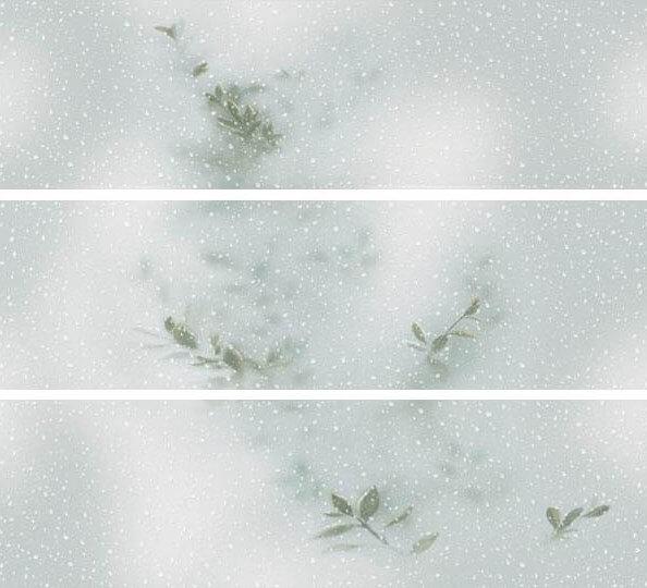 Купить Керамическая плитка Ibero Intuition Reborn Aquamarine (A+B+C) S-97 СК014 панно 87х100, Испания