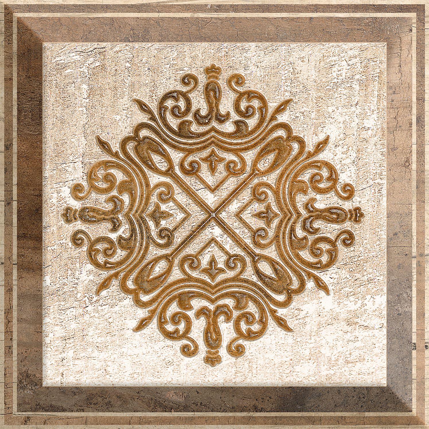 Купить Керамический плитка Absolut Keramika Decor Newcastle Brown декор 10х10, Испания
