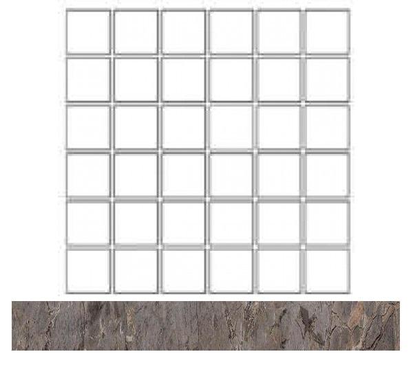 Купить Керамогранит Seranit Gusto Mosaic Taupe-Grey Lappato (5x5) мозаика 30x30, Турция
