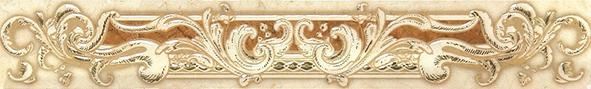 Купить Керамическая плитка Gracia Ceramica Rotterdam brown 01 Бордюр 50х7, 5, Россия