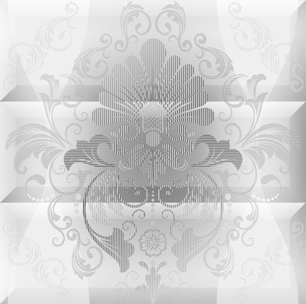 Купить Керамическая плитка Absolut Keramika Vintage Composicion Ornamental Blanco Панно 45x45, Испания