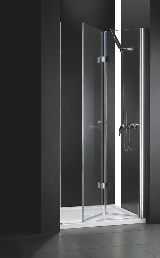 Купить Душевая дверь в нишу CEZARES ELENA BS-12 1950x900 (матовое стекло) Хром, Италия