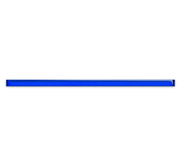 Купить Керамическая плитка Mei Universal Glass Спецэлемент стеклянный синий 3x75 (UG1U031), Россия