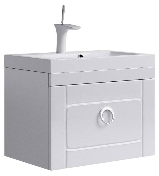 Купить Тумба под умывальник Aqwella Инфинити 60 подвесная, белый Inf.01.06/001, Россия