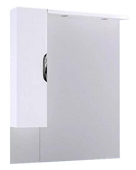 Купить Зеркало Aqwella ЭкоЛайн 100 со шкафчиком и подсветкой, белый Eco-L.02.10, Россия