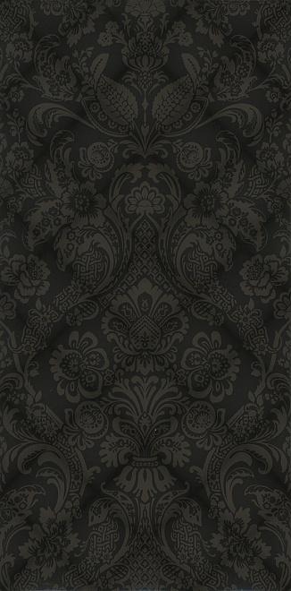 Купить Керамическая плитка Даниэли Плитка настенная черный структура обрезной 11108R 30х60, Kerama Marazzi, Россия
