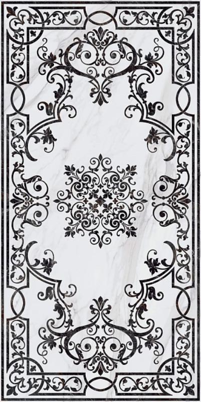 Купить Керамогранит Kerama Marazzi Ковры SG591702R Монте Тиберио декорированный лаппатированный Ковер 119, 5х238, 5, Россия