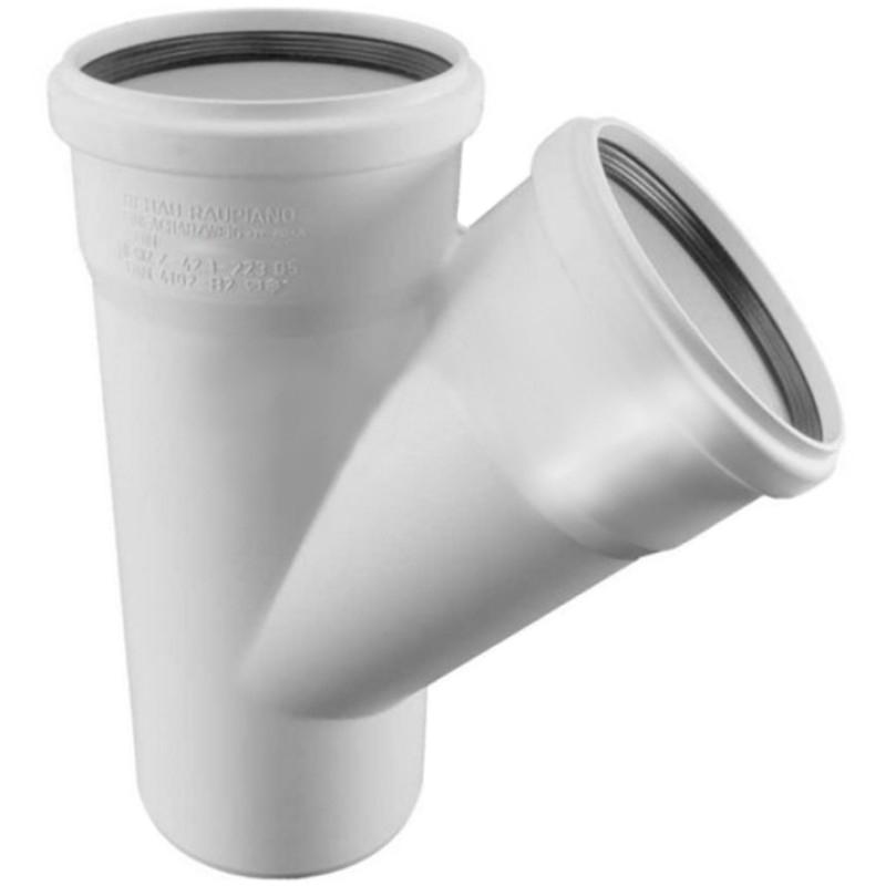 Купить Rehau Тройник для систем внутренней канализации 110/110х45°, Германия