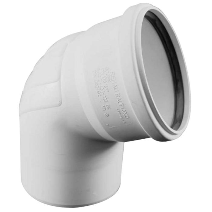 Купить Rehau Отвод для систем внутренней канализации 110 на 67*, Германия