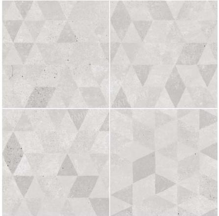 Купить Керамическая плитка Dual Gres Vanguard Pav. Aura Grey (Mix без подбора) напольная 45x45, Испания