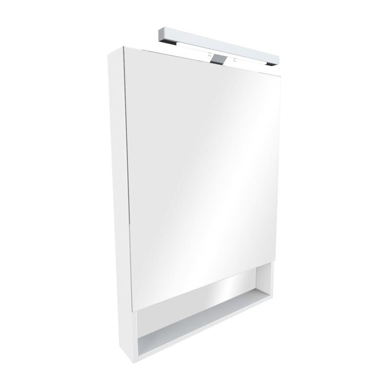 Купить Зеркальный шкаф ROCA The GAP 80 со светильником ZRU9302750, Испания