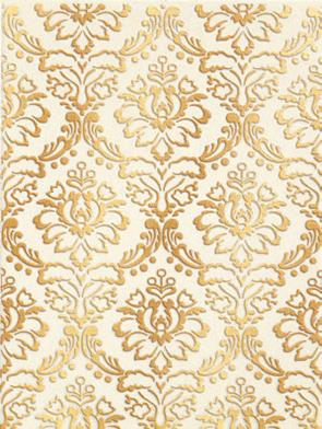 Купить Керамическая плитка Lb-Ceramics Катар декор белый 1634-0090 25x33, Россия