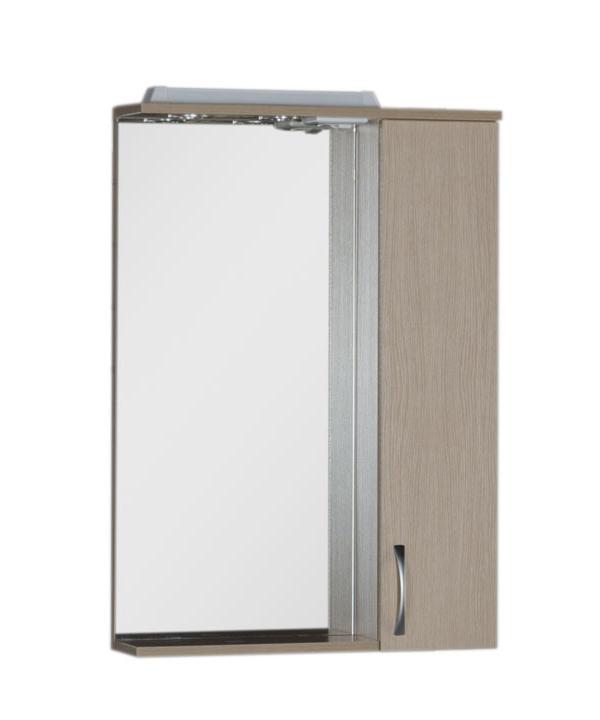 Купить Зеркальный шкаф Aquanet Донна 60 светлый дуб 00168928, Россия
