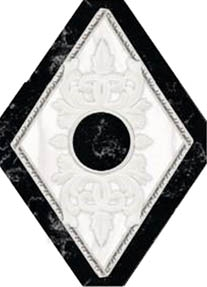 Купить Керамическая плитка Navarti Inserto Oka Azur вставка 10, 5х14, 5, Испания