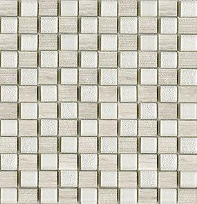 Купить Керамическая плитка Lantic Colonial Mosaico Time Text Silver Wood G-124 Мозаика 29, 5x28, 5, Испания