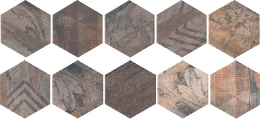 Купить Керамическая плитка Kerama Marazzi Монруж A2972/10x/SG1010 панно (из 10шт) 10, 4x120, Россия