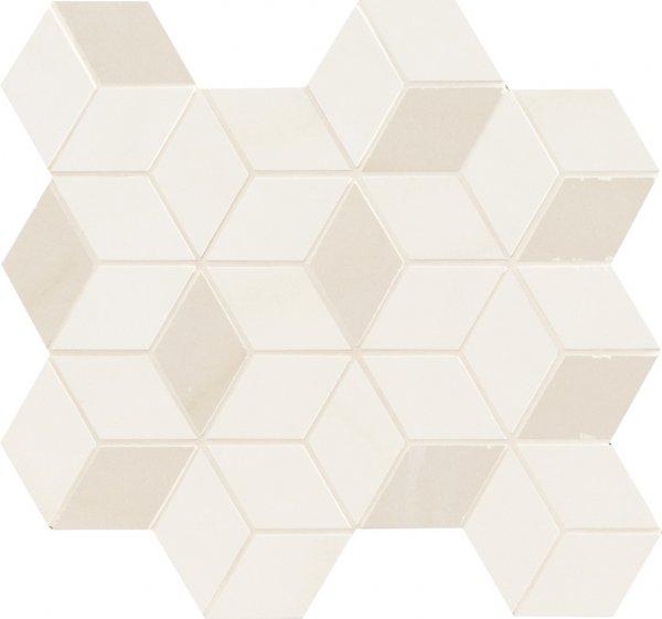 Купить Керамическая плитка Marca Corona Newluxe White Tessere Rombi Декор 26х28, Италия