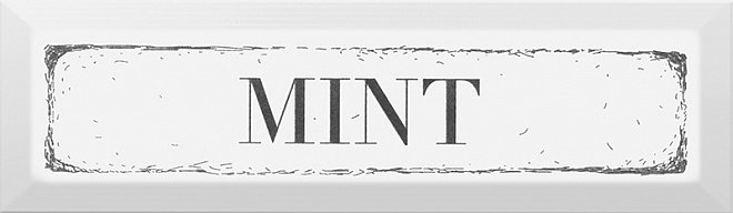 Купить Керамическая плитка Kerama Marazzi Гамма NT/В38/2882 Mint Черный Декор 8, 5x28, 5, Россия